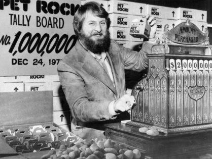 Gary Dahl, Se hizo millonario vendiendo piedras.